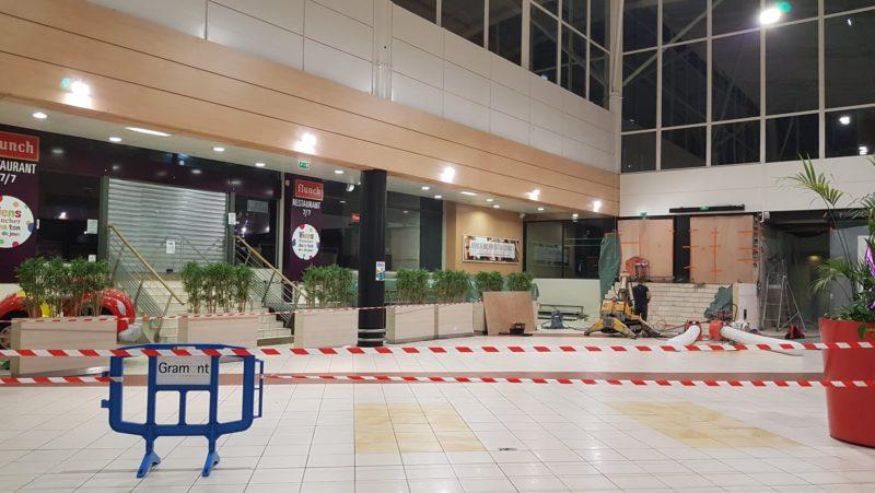 Rénovation Galerie Marchande Auchan Gramont